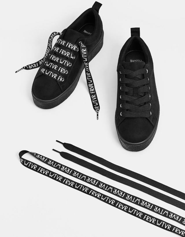 bershka primavera estate 2018 sneakers nere