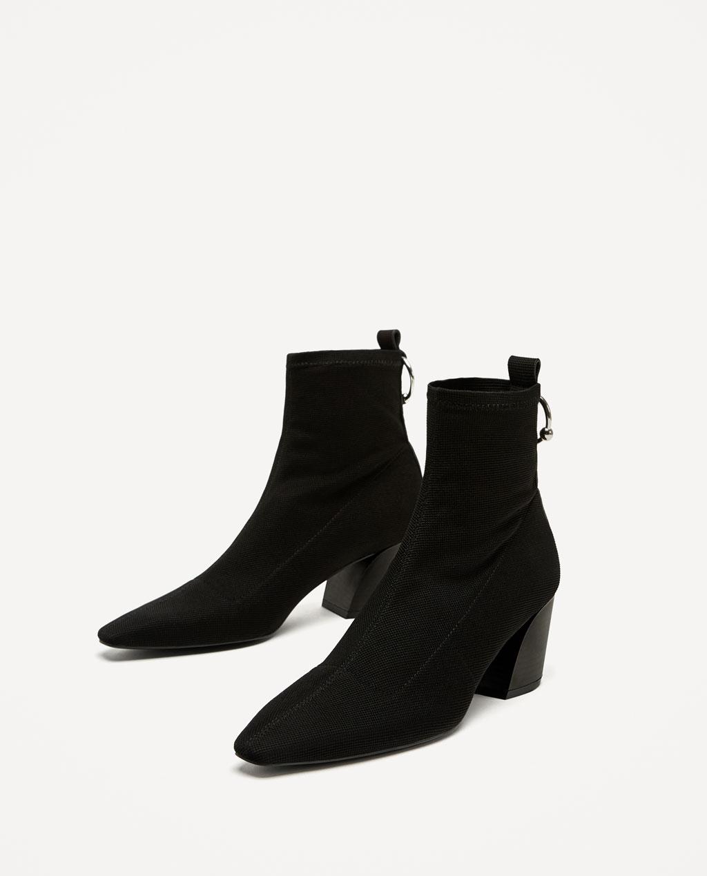 Scarpe Zara 2018 stivaletti