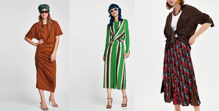 Abiti Lunghi Zara Estate 2018 Zara Donna Inverno Catalogo Con Foto