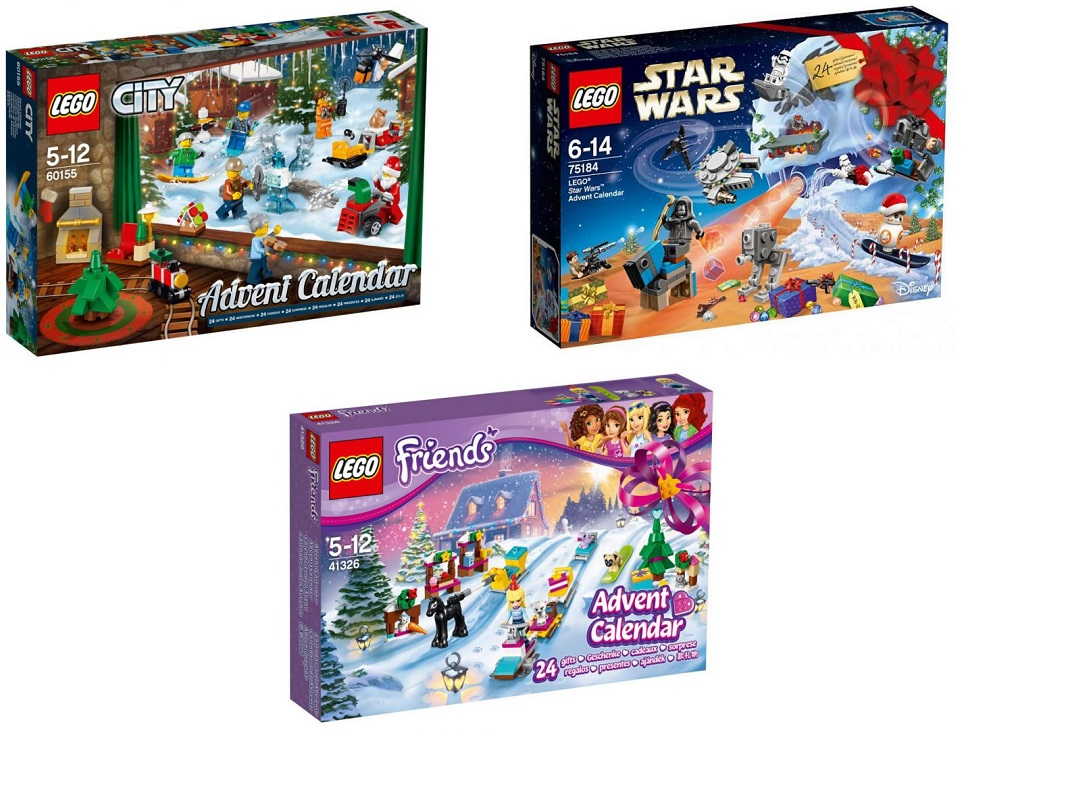 Nyx Calendario Avvento.Calendario Avvento Lego 2020 Calendario 2020
