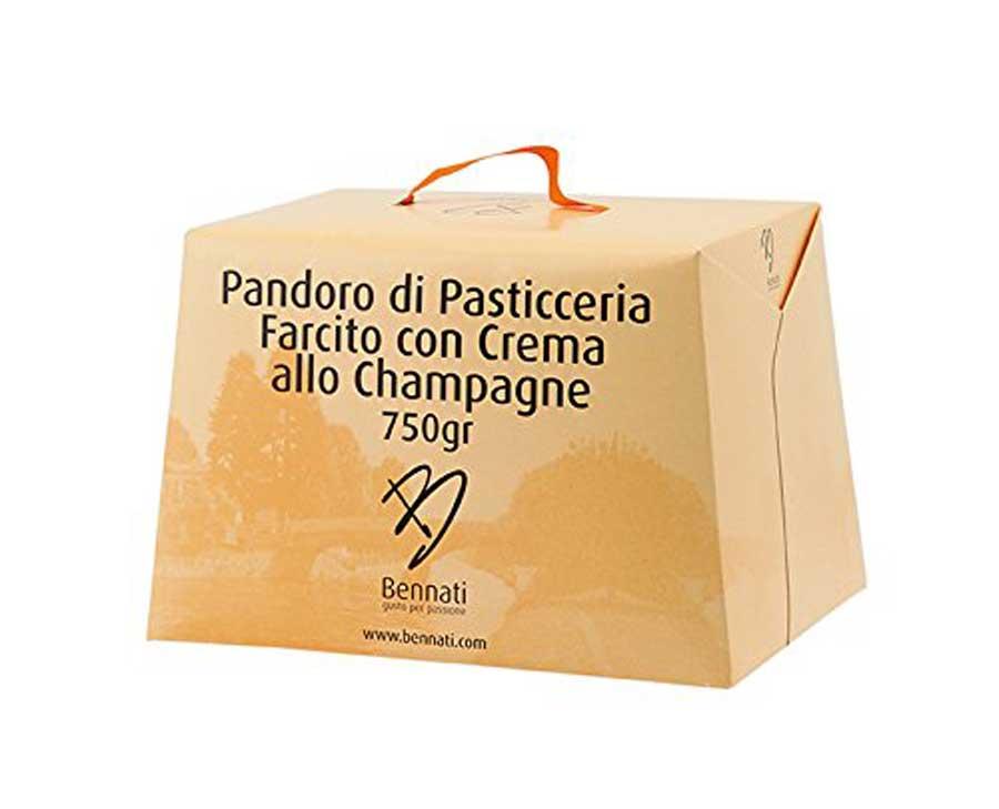 panettoni e pandori novità natale 2017 pandoro crema allo champagne bennati