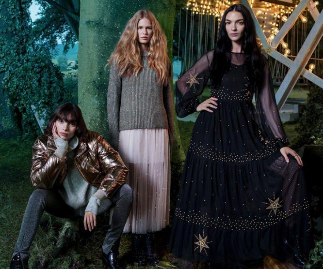 H&M NATALE 2017 CATALOGO gonne tulle