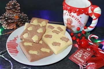 ricetta biscotti di frolla bicolore natalizi