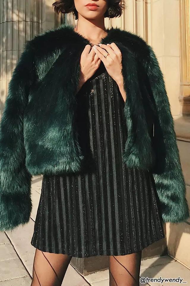 capodanno 2018 outfit pelliccia