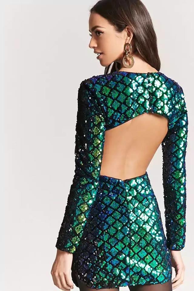 capodanno 2019 outfit sirena