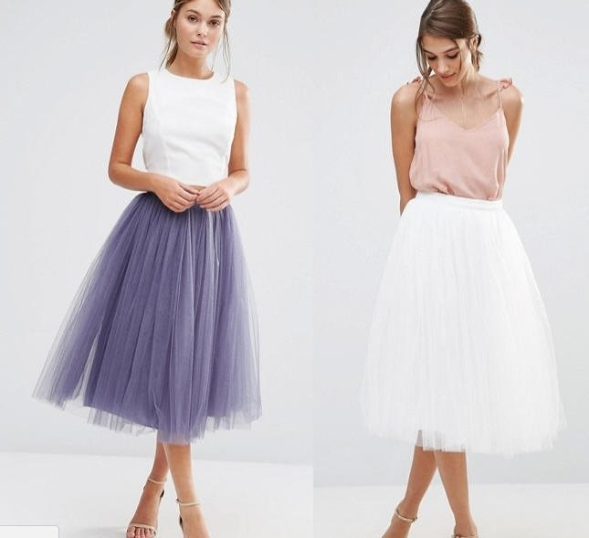 outfit san valentino 2018 gonne in tulle