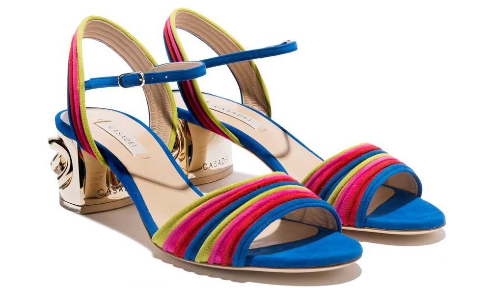 casadei 2018 catalogo sandali bassi