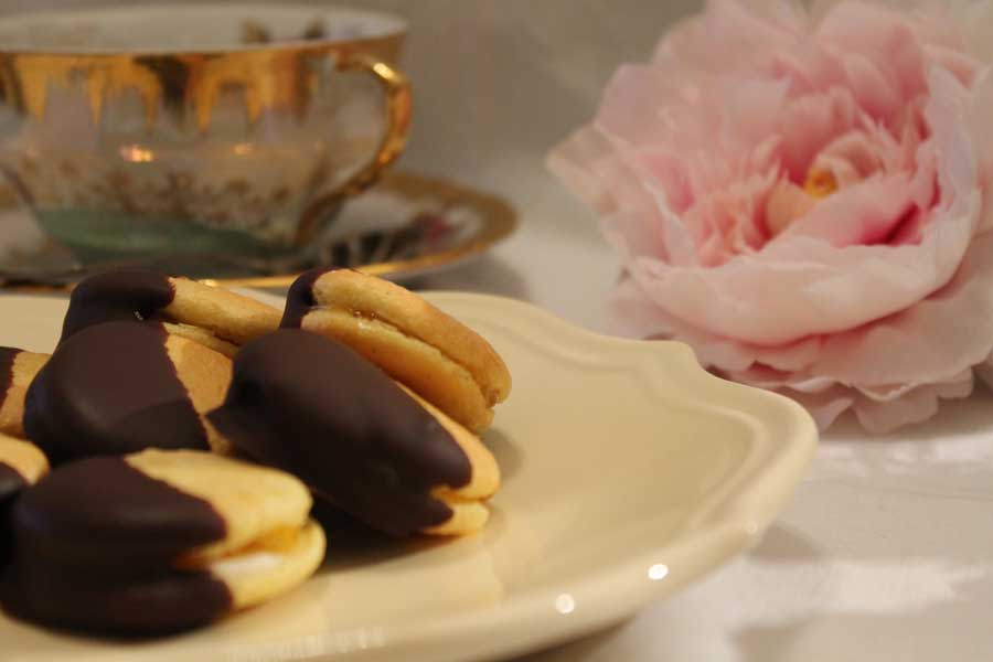 ricetta dolce pavese biscotti baci del signore