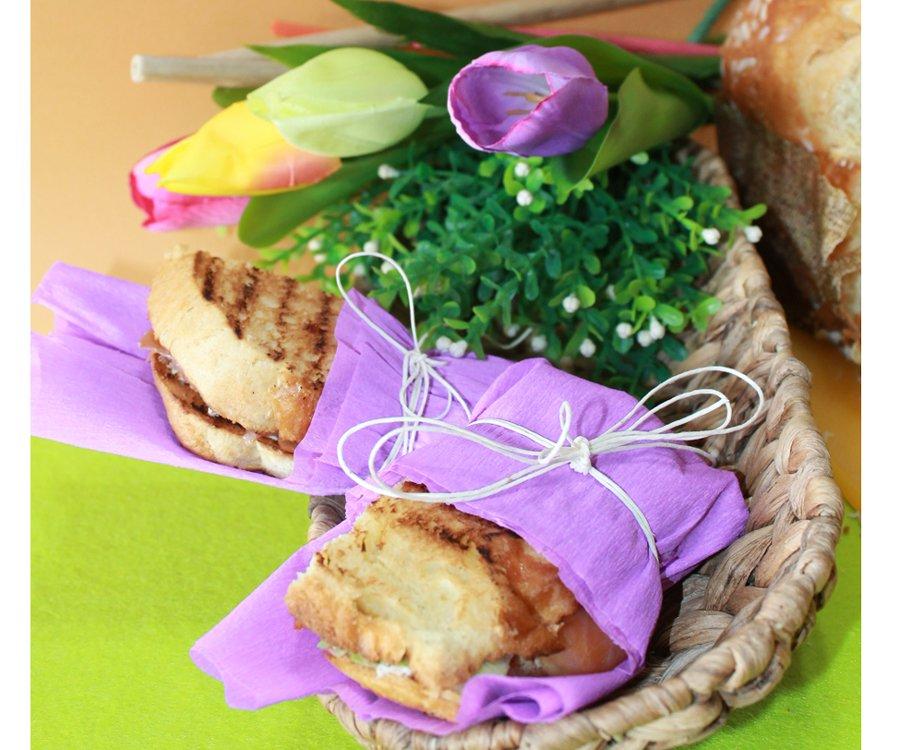 Ricetta toast di focaccia dolce salati
