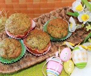 ricetta muffin salati pasquali