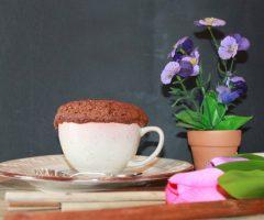 ricetta torta in tazza cuore caldo con sorpresa