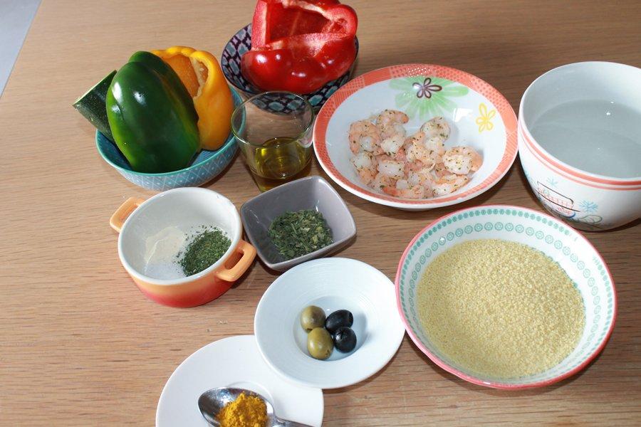 Ricetta peperoni ripieni cous cous e gamberetti golosamente for Cucinare cous cous