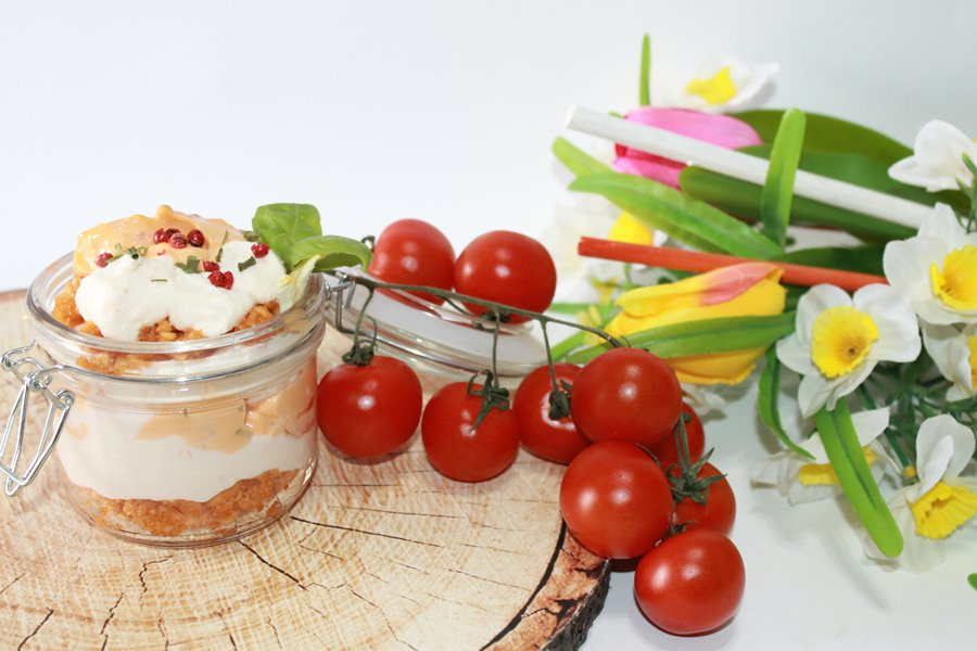 Ricetta tiramisù salato gamberetti e salsa rosa