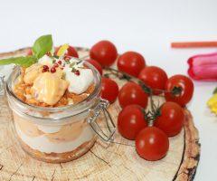 ricetta tiramisu salato gamberetti e salsa rosa