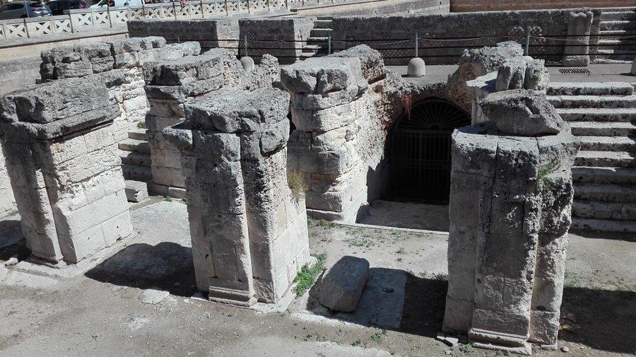 blog tour salento puglia lecce resti anfiteatro romano