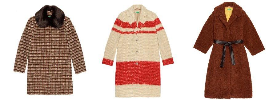 benetton 2019 catalogo cappotti lunghi