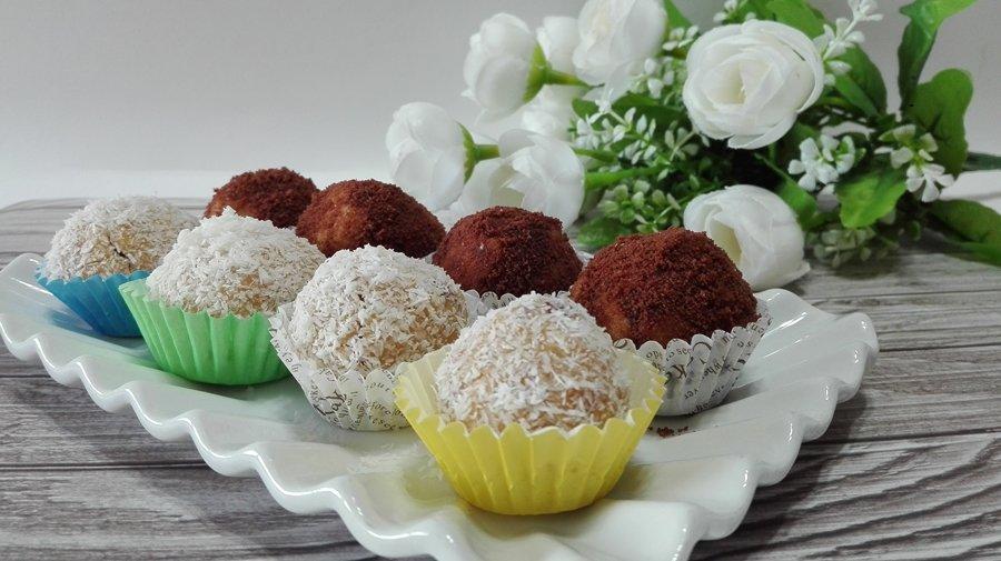 ricetta tartufini dolci Nutella e cocco