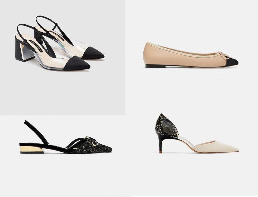 Tutti i modelli di scarpe proposti da Zara per la nuova