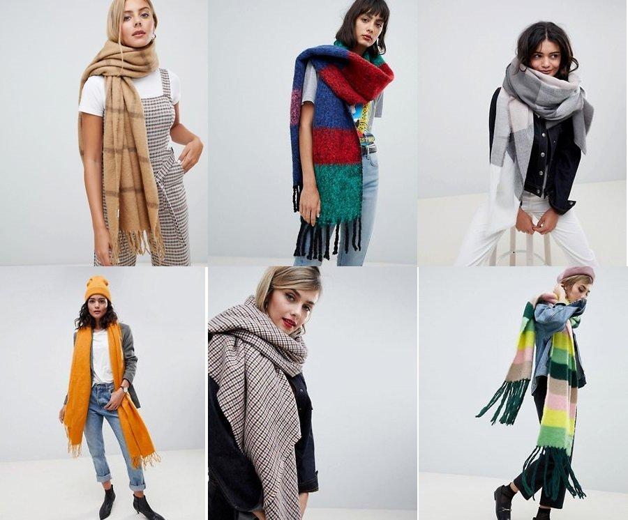 design innovativo e87ea 98d06 Sciarpe autunno inverno 2018 2019 tendenze   Smodatamente