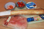 Ricetta baguette ripiena speck e mascarpone