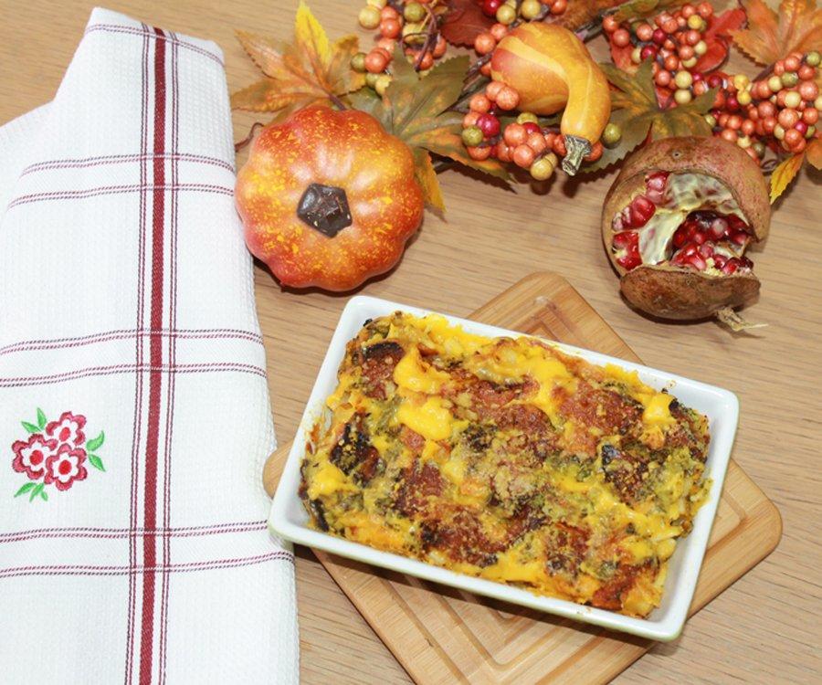 Ricetta rigatoni vegetariani al forno