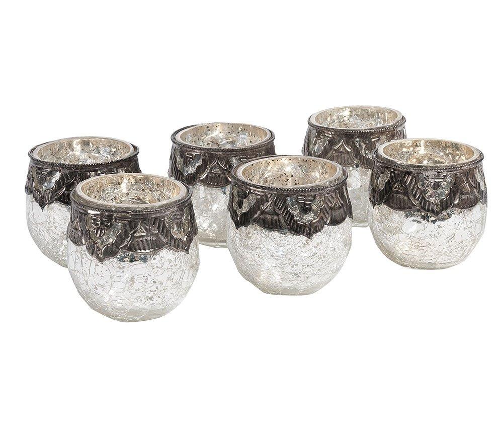 """Porta candele """"Orient"""" Queen set 6 pz in vendita su Mudees"""