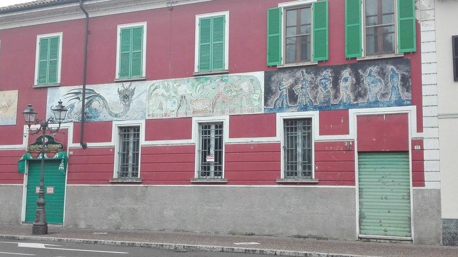 Gravellona Lomellina arte dipinta sui muri