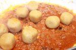 Ricetta falafel in umido