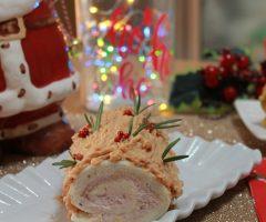Ricetta mini tronchetti natalizi salati