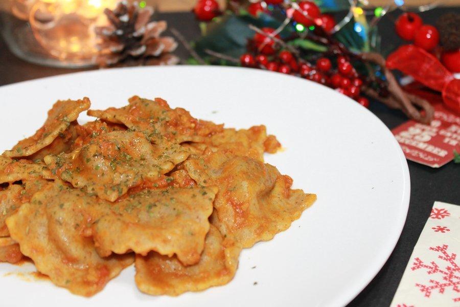 Ricetta ravioli integrali patate e funghi