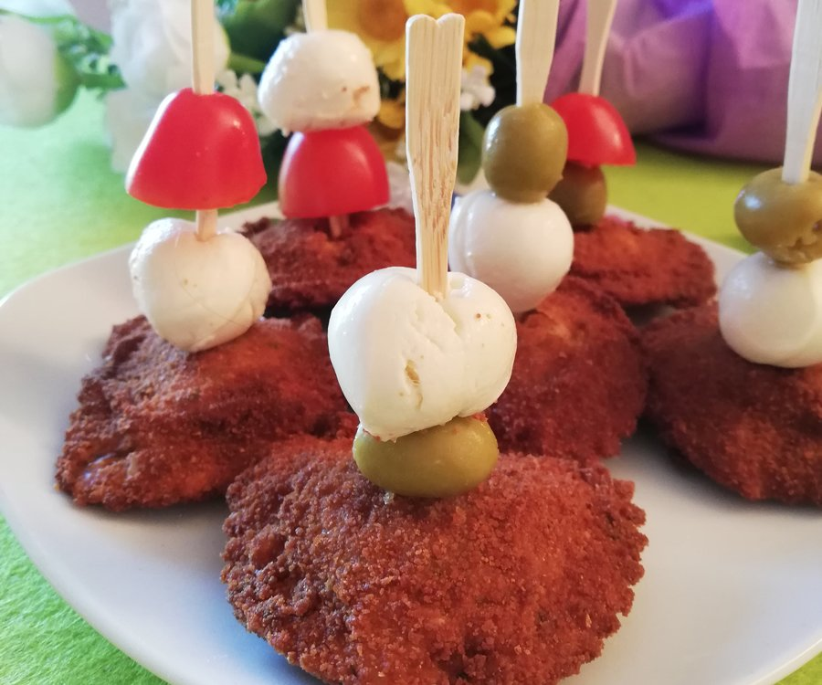Ricetta spiedini di ravioli fritti